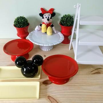 Kit festa porcelana MINNIE - aluguel