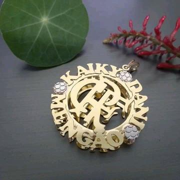 Mandala personalizada com nome e simbolos