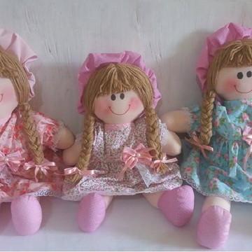Trio de Bonecas quarto Bebê
