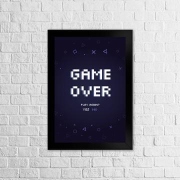 Coleção Gamer - Game Over