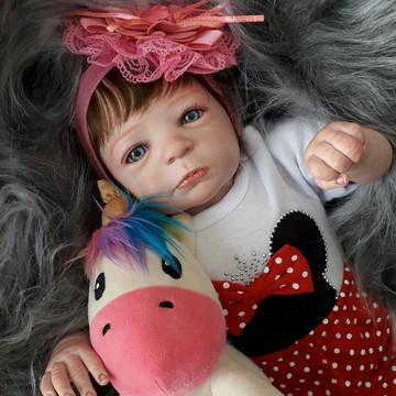 Linda Bebê Reborn A Pronta entrega