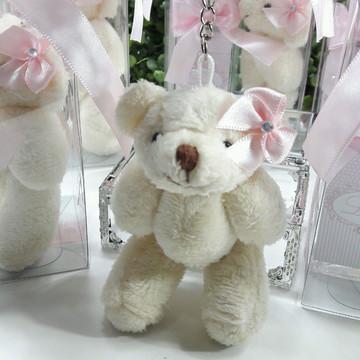 Ursa Chaveiro 10cm Lembrancinha