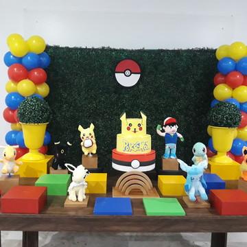 Aluguel kit de decoração Pokemon