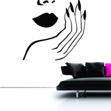 Adesivo de parede para Manicure e Pedicure