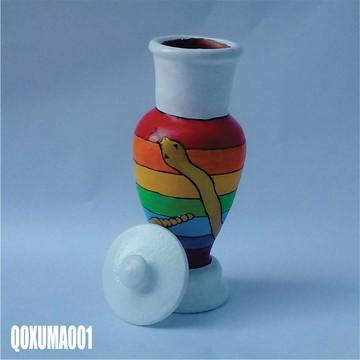 Quartinha Oxumaré (QOXUMA001) umbanda candomblé axé fé
