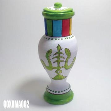 Quartinha Oxumaré (QOXUMA002) umbanda candomblé axé fé