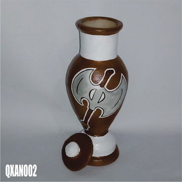 Quartinha Xangô (QXAN002) umbanda candomblé axé asé fé orixá