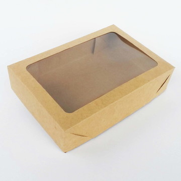 Caixa Visor Retangular - 26 x 18 x 9 cm - KR