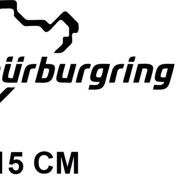 Adesivo Pistas Nurburgring Formula 1 F1 Corrida Frete Grátis