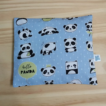 Almofada Térmica Mini Pandas + BRINDE