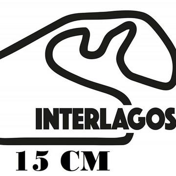 Adesivo Pistas Interlagos Formula 1 F1 Corrida Frete Grátis