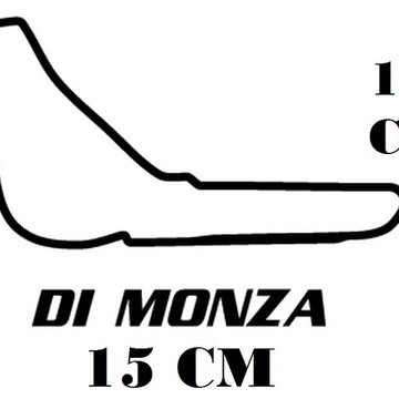 Adesivo Pistas Di Monza Formula 1 F1 Corrida Frete Grátis