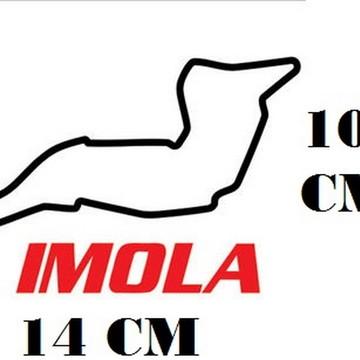 Adesivo Pistas Imola Formula 1 F1 Corrida Frete Grátis