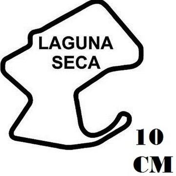 Adesivo Pistas Laguna Seca Formula 1 F1 Corrida Frete Grátis
