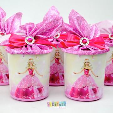 Lata Centro de Mesa Barbie