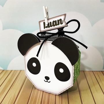 Caixa Tema Panda Menino