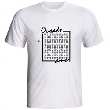 Camiseta Ousado Amor 99 Ovelhas Jesus Bom Pastor