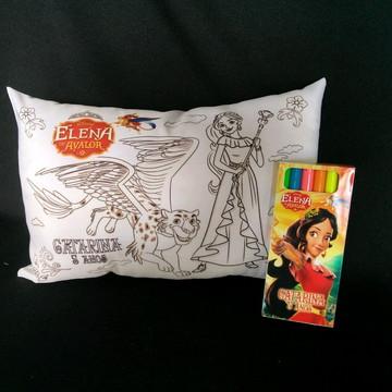 Almofada de colorir Elena de Avalor