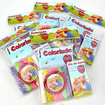 Kit colorir médio c/ massinha Ursinho Pooh