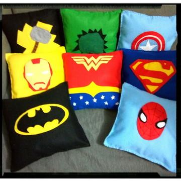 Almofada Decorativa Super Heróis