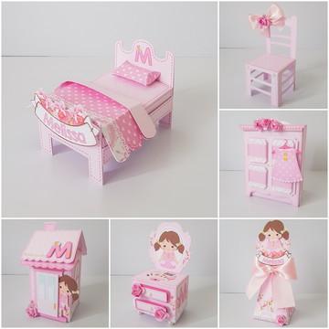 Arquivo de corte casa de boneca