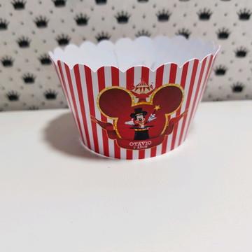 mickey circo saia cupcake