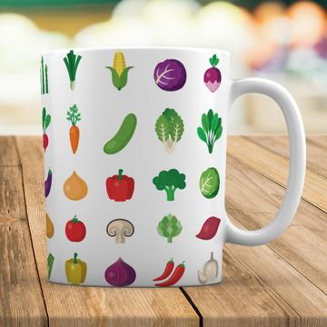 Caneca Personalizado Alimentos (Nutricionista)