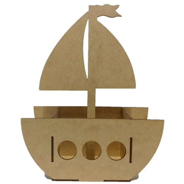 Cachepot Barco 5 unidades