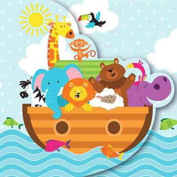 Painel de Arca de Noe 3