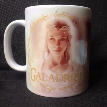 Caneca Galadriel - A Senhora de Lórien Senhor dos Aneis LOR