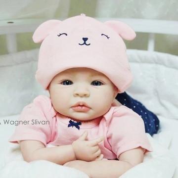 Bebê Reborn Menina Parece Um Bebê De Verdade Lindíssima