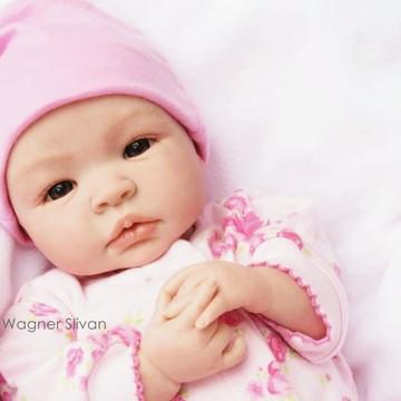 Bebê Reborn Menina Realista Linda Parece Um Bebê De Verdade