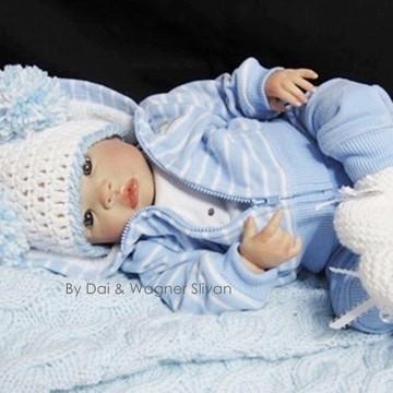 Bebê Reborn Menino Detalhes De Um Bebê De Verdade Promoção