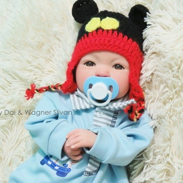 Bebê Reborn Menino Detalhes Reais Bebê Barato Com Chupeta