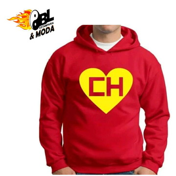 14b6797f3 Blusa de Moletom Chapolin Colorado