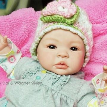 Bebê Reborn Menina Parece Um Bebê De Verdade Bebê Barato