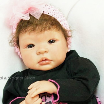 Bebê Reborn Menina Realista Parece De Verdade Lindíssima