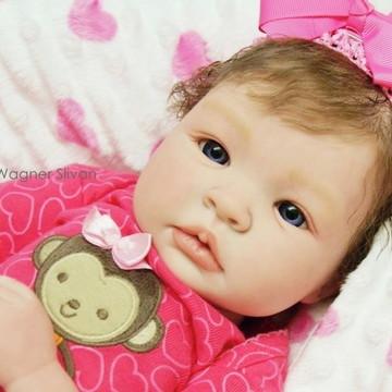Boneca Bebê Reborn Menina Detalhes De Um Bebê De Verdade