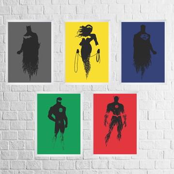 Quadros Super Heróis