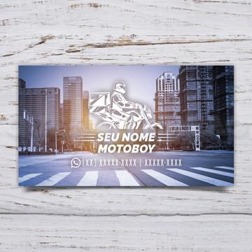 Cartão De Visita Motoboy C/1000 #MTB1