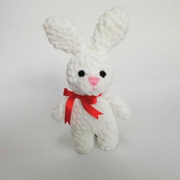 Amigurumi - coelho de crochê + coração