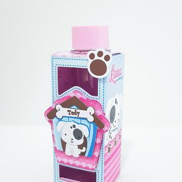Porta tubete - Tema Cachorrinho Menina