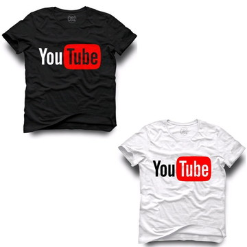 0bfe5191e7 Camiseta Youtube