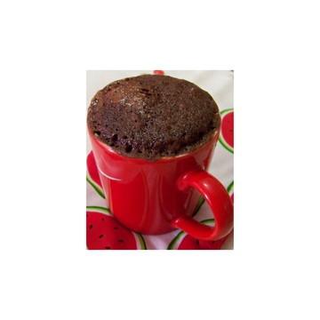 mistura brownie de caneca chocolate belga e castanha do Pará