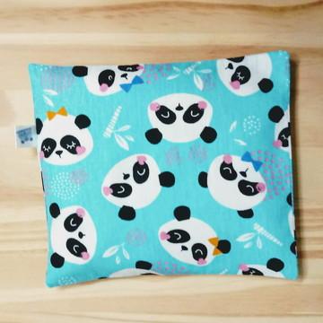 Almofada Térmica Pandas + BRINDE