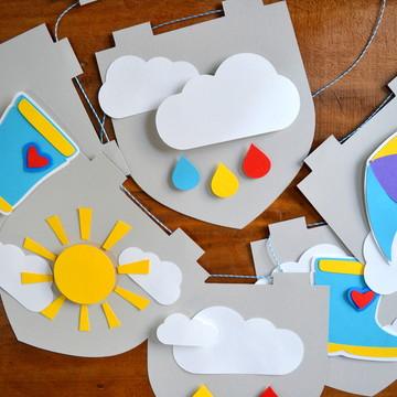 Kit Festa Infantil - Rainbow
