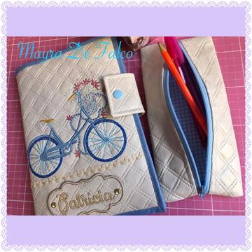 Kit Capa para Caderno e Porta lápis