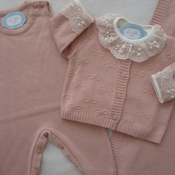 Saída de Maternidade Lacinho Rosê