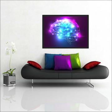 Quadro Decorativo Psicologia Salas Interiores DecorarT01
