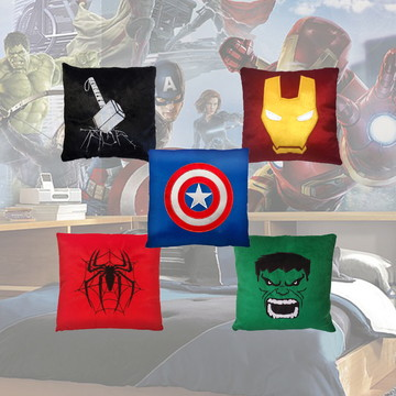 Kit de Almofadas Super Heróis Vingadores Ultimato